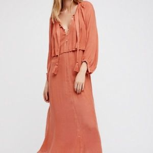 Free People Dresses - Free People Mad About This Holiday Boho Dress S